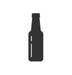 Bottle beer icon vector