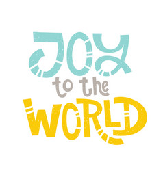 choose joy quotes vector image