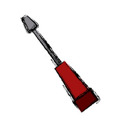 screwdriver tool equipment repair support icon vector image