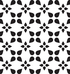 Universal black and white seamless pattern tiling vector