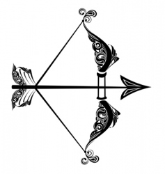 Zodiac sign of Sagittarius vector