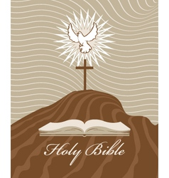 holy Spirit vector image