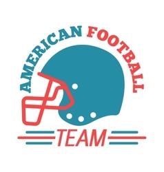 Sport team badge logo vector image vector image