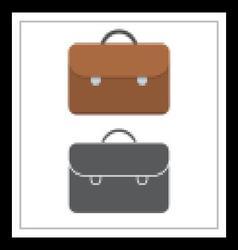 Brown Case Icon vector image vector image