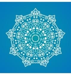 mandala Yoga pattern vector image vector image