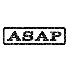 asap watermark stamp vector image