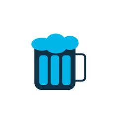 beer icon colored symbol premium quality isolated vector image