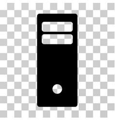 Computer mainframe icon vector