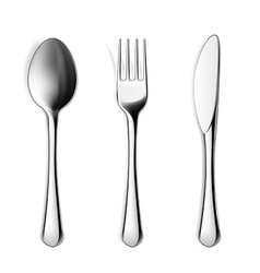 Cutlery Stock vector image