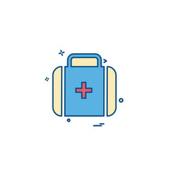First-aid firstaid medical medicine box icon icon vector