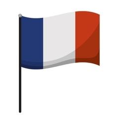France flag emblem vector image