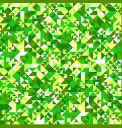geometrical colorful random triangle pattern vector image