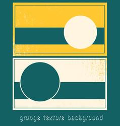 Grunge presentation template design vector
