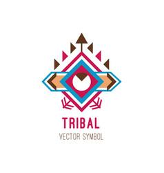Native tribal logo vector