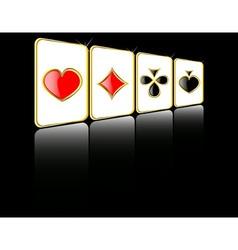 play card set eps 8 vector image