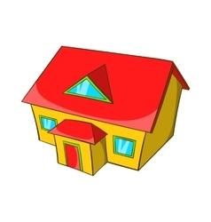 Real estate icon cartoon style vector image vector image