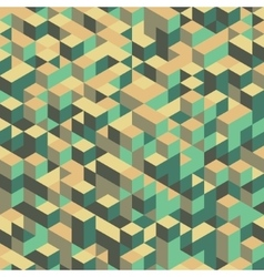 3d blocks structure background vector image vector image