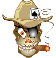 Skull bandit vector