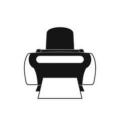 Photo printer icon simple style vector image vector image