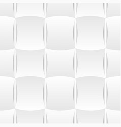 3d curve tile seamless pattern white 002 vector