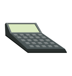Calculator financial accounting business icon vector