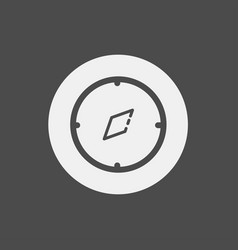 compass icon sign symbol vector image