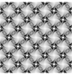 Design seamless monochrome grid decorative pattern vector image