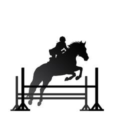 Equestrian sport vector