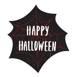Halloween poster with text inside vector