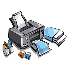 Ink jet printer vector