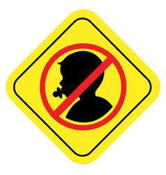 no infan sign vector image