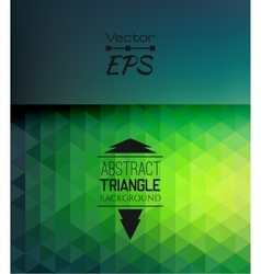 retro mosaic pattern geometric triangle shapes vector image