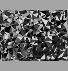 Tessellating random triangles pattern background vector
