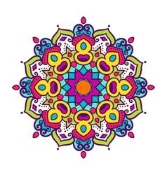 mandala ornament vector image vector image