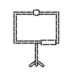 school blackboard isolated vector image vector image