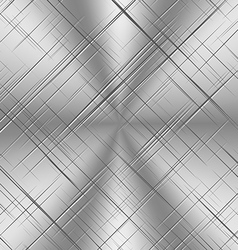 Scratched Alluminum Background vector image vector image