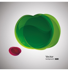 abstract apple background vector image