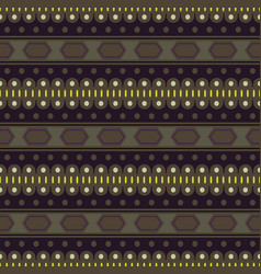 seamless stylish texture with brown color vector image