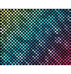 Abstract mosaic neon background 3 vector image