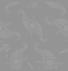 Abstract oriental pattern vector