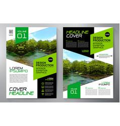Business brochure flyer design a4 template vector