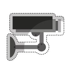 camera cctv isolated icon vector image