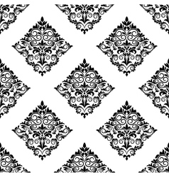 Geometric arabesque seamless pattern vector