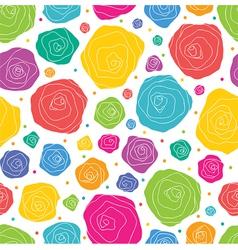 Pattern rose vector
