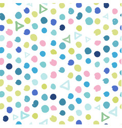 trendy pastel scribbles pattern abstract vector image