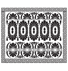 Greek pattern ornament vector image