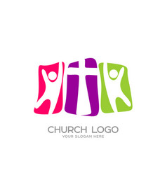 people worship the lord jesus christ vector image