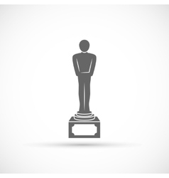 Movie award icon vector image vector image