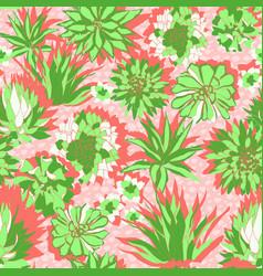 Colorful modern tropical design a lush vector