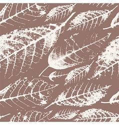 Foliage herbarium seamless pattern vector